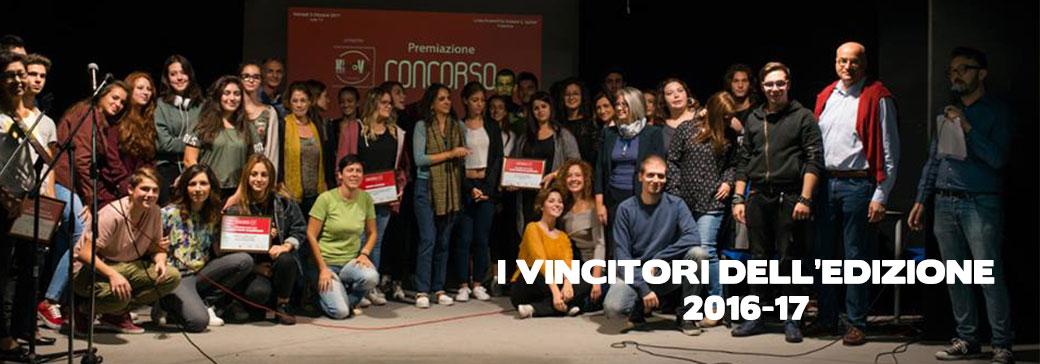 I vincitori del concorso 2016-17